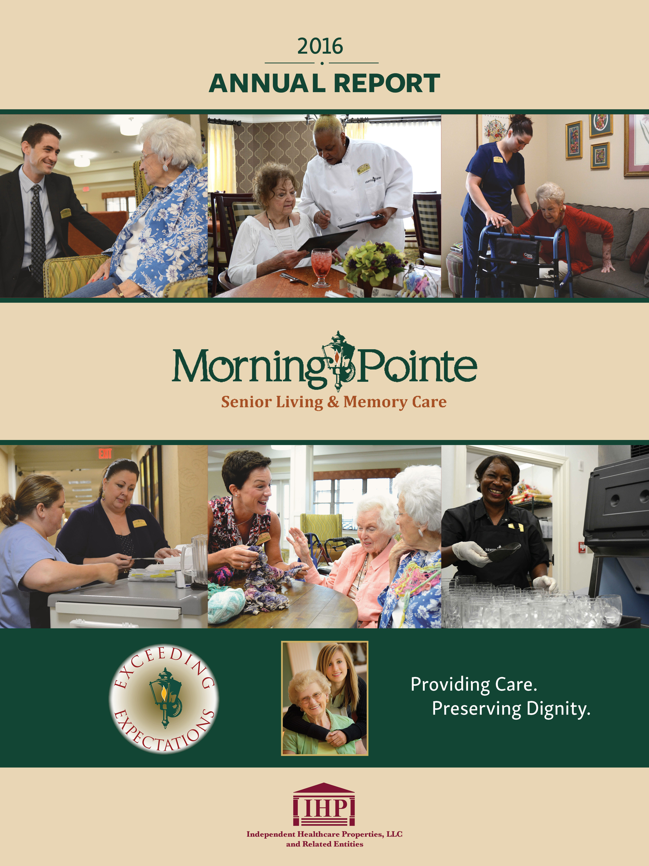 Morning Pointe Annual Report 2016