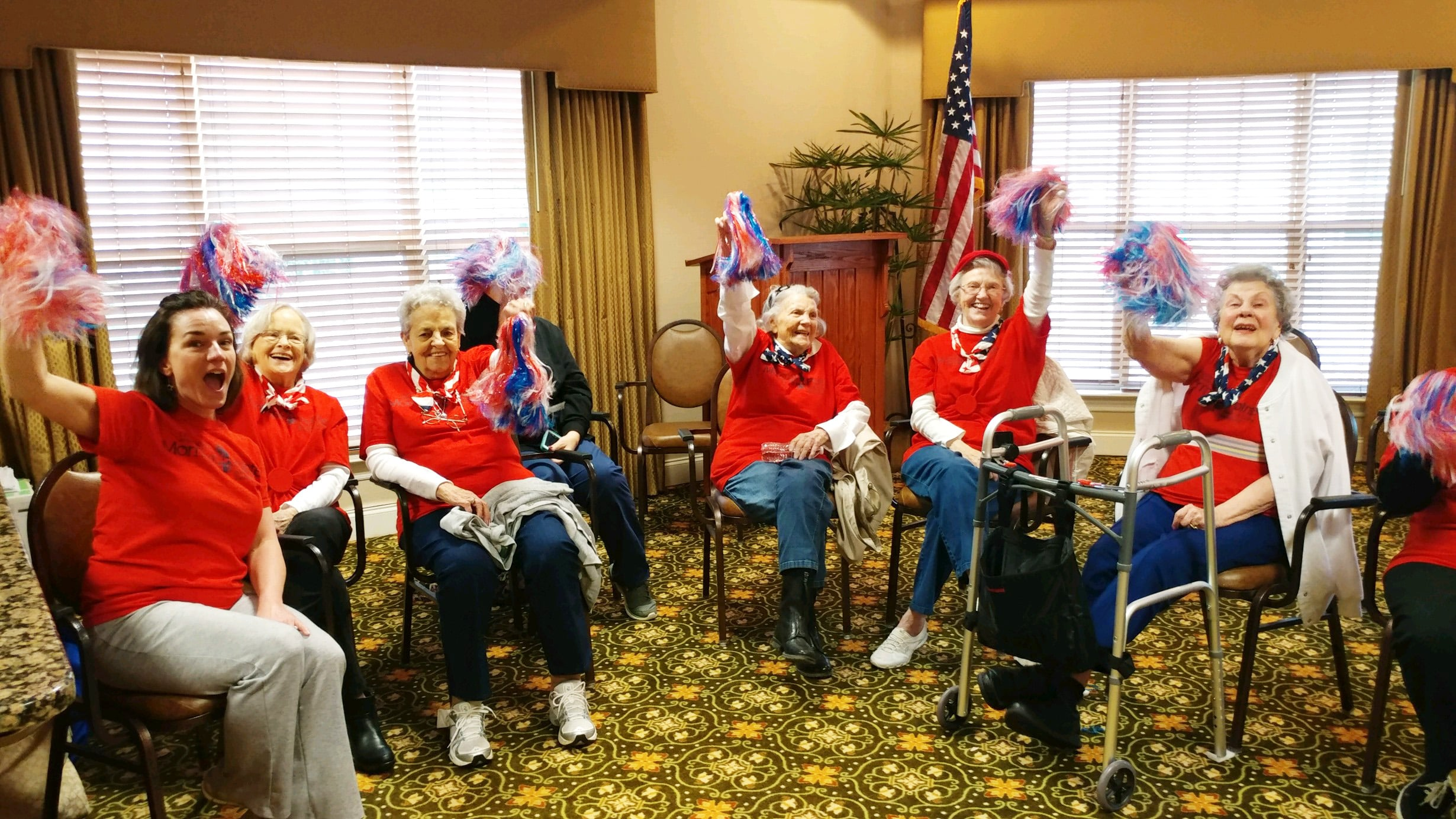 Assisted Living is fun at Morning Pointe